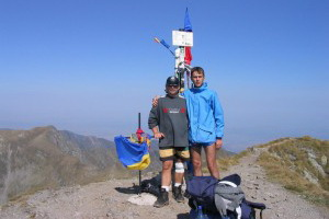 Peak Moldoveanu 2.544m - Romania 2003