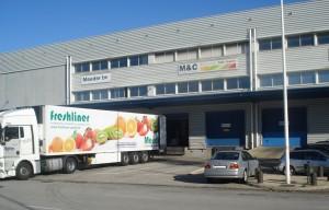 M&C Fresh warehouse
